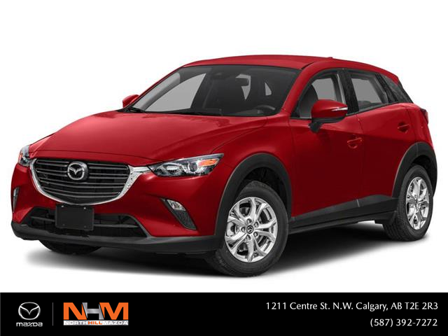 2021 Mazda CX-3 GS (Stk: N6477) in Calgary - Image 1 of 9