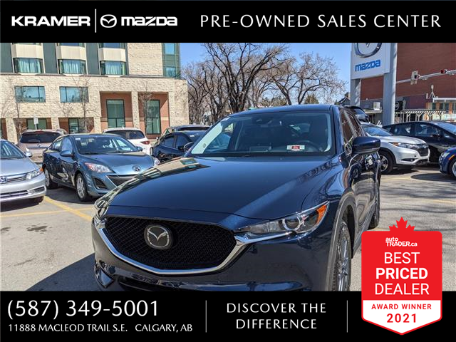 2019 Mazda CX-5 GS (Stk: NT3275) in Calgary - Image 1 of 17