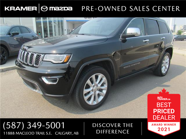 2017 Jeep Grand Cherokee Limited (Stk: ST2237) in Calgary - Image 1 of 26