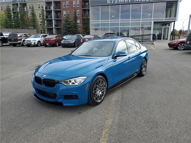 2014 BMW 335i xDrive (Stk: K8283A) in Calgary - Image 1 of 22