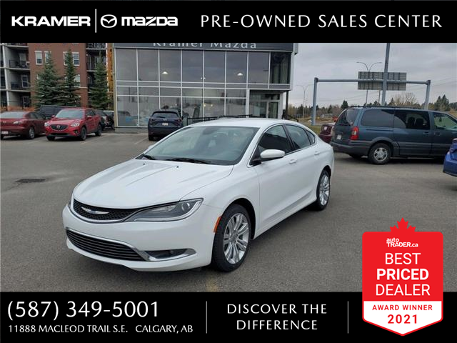 2015 Chrysler 200 Limited (Stk: K8301A) in Calgary - Image 1 of 21