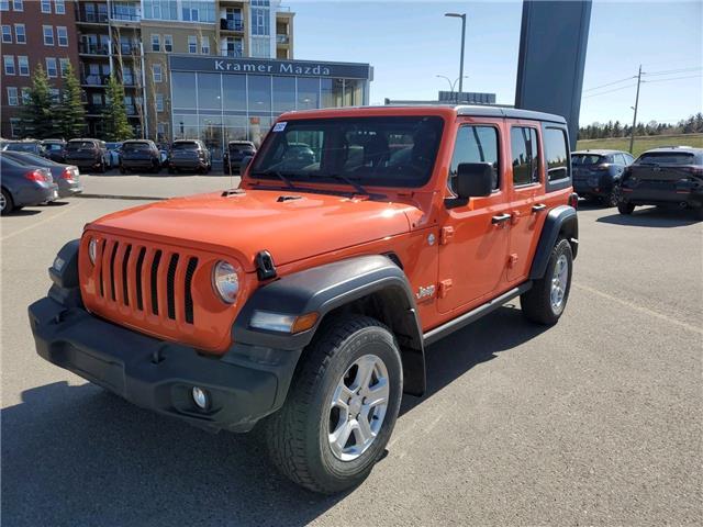 2018 Jeep Wrangler Unlimited Sport (Stk: K8254) in Calgary - Image 1 of 20