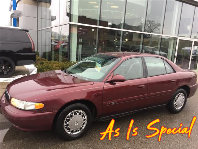 Used 2002 Buick Century Custom SOLD AS IS / AS TRADED - London - Finch Chevrolet