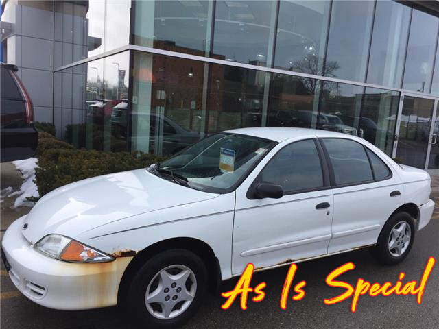 Used 2002 Chevrolet Cavalier  SOLD AS IS / AS TRADED - London - Finch Chevrolet