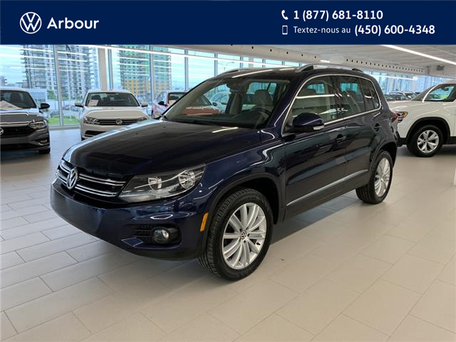 2017 Volkswagen Tiguan Comfortline (Stk: U0560) in Laval - Image 1 of 17