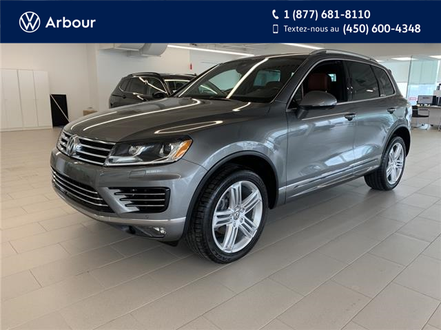 2017 Volkswagen Touareg 3.6L Execline (Stk: A210516A) in Laval - Image 1 of 19