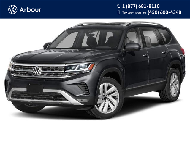 2021 Volkswagen Atlas 3.6 FSI Execline (Stk: A210600) in Laval - Image 1 of 9