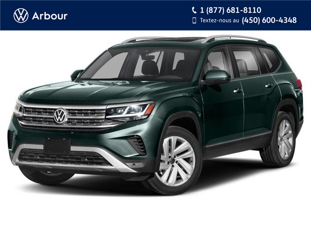 2021 Volkswagen Atlas 3.6 FSI Execline (Stk: A210598) in Laval - Image 1 of 9