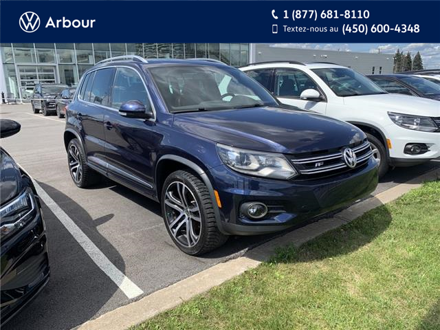 2017 Volkswagen Tiguan Highline (Stk: A00606A) in Laval - Image 1 of 17