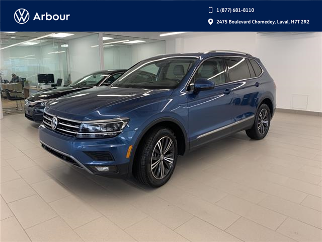2018 Volkswagen Tiguan Highline (Stk: A210313A) in Laval - Image 1 of 20