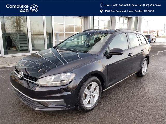 2019 Volkswagen Golf SportWagen 1.8 TSI Comfortline (Stk: E0478) in Laval - Image 1 of 16