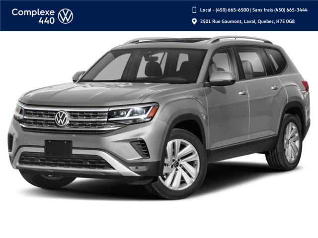 2021 Volkswagen Atlas 2.0 TSI Highline (Stk: N210191) in Laval - Image 1 of 9