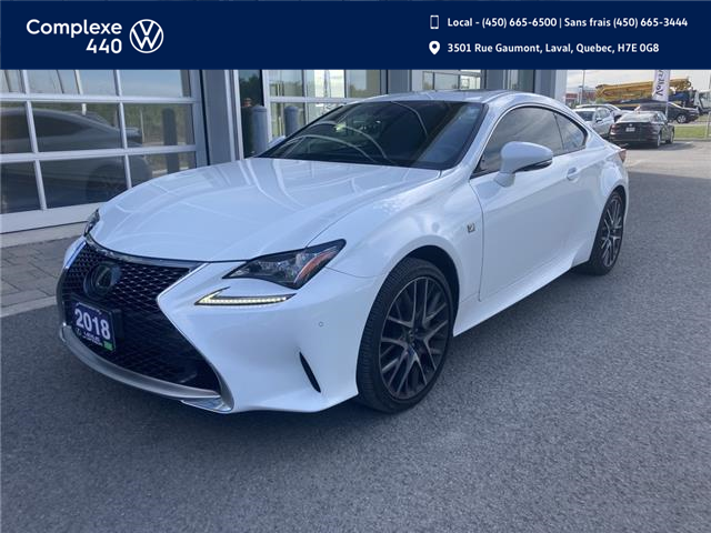 2018 Lexus RC 350 Base (Stk: E0614) in Laval - Image 1 of 13