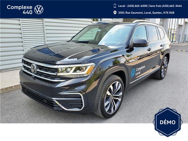 2021 Volkswagen Atlas 3.6 FSI Execline (Stk: N210274) in Laval - Image 1 of 23