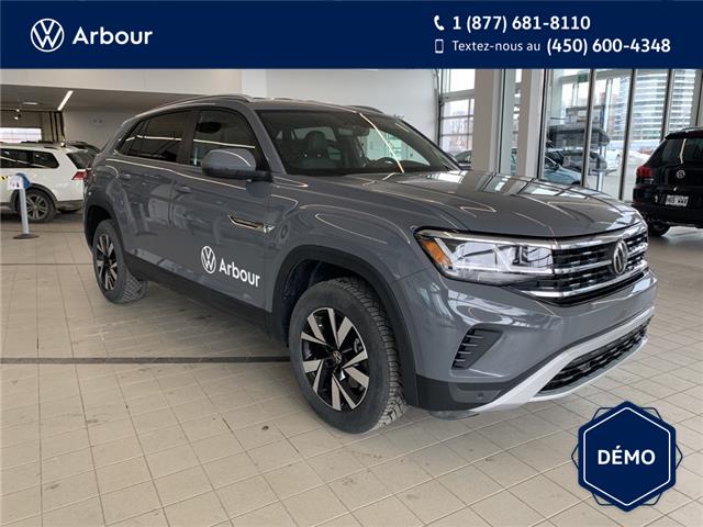 2021 Volkswagen Atlas Cross Sport 2.0 TSI Comfortline (Stk: A210158) in Laval - Image 1 of 16