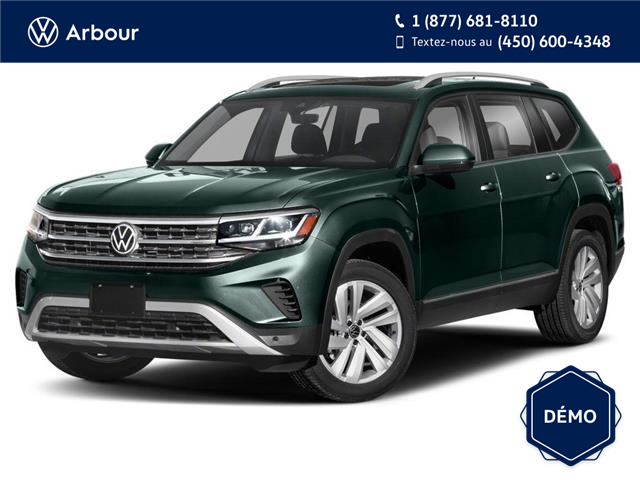 2021 Volkswagen Atlas 3.6 FSI Execline (Stk: A210397) in Laval - Image 1 of 9