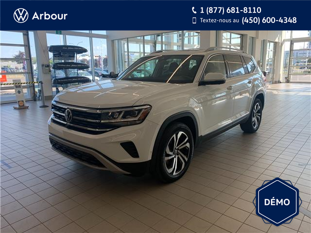 2021 Volkswagen Atlas 3.6 FSI Execline (Stk: A210223) in Laval - Image 1 of 18