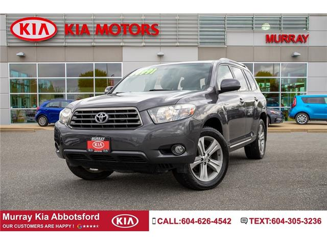 2008 Toyota Highlander V6 Sport (Stk: NV06829A) in Abbotsford - Image 1 of 21