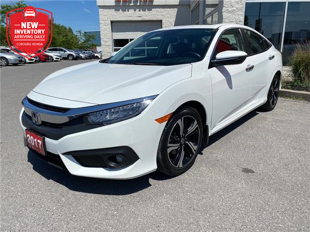 2017 Honda Civic Touring (Stk: 21205A) in Cobourg - Image 1 of 26