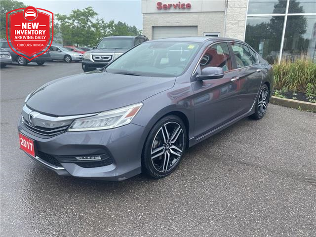 2017 Honda Accord Touring (Stk: 21202A) in Cobourg - Image 1 of 27