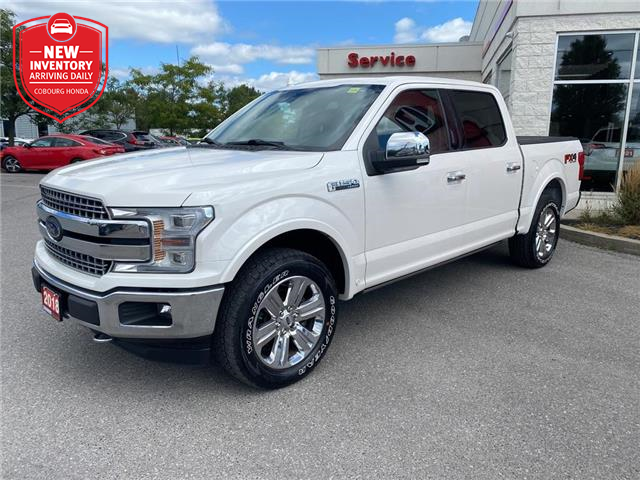 2018 Ford F-150 Lariat (Stk: 21240A) in Cobourg - Image 1 of 22