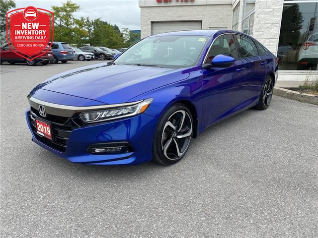 2019 Honda Accord Sport 1.5T (Stk: 21231A) in Cobourg - Image 1 of 26