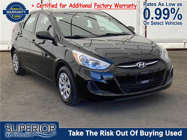 2017 Hyundai Accent GL (Stk: 17529A) in Thunder Bay - Image 1 of 17