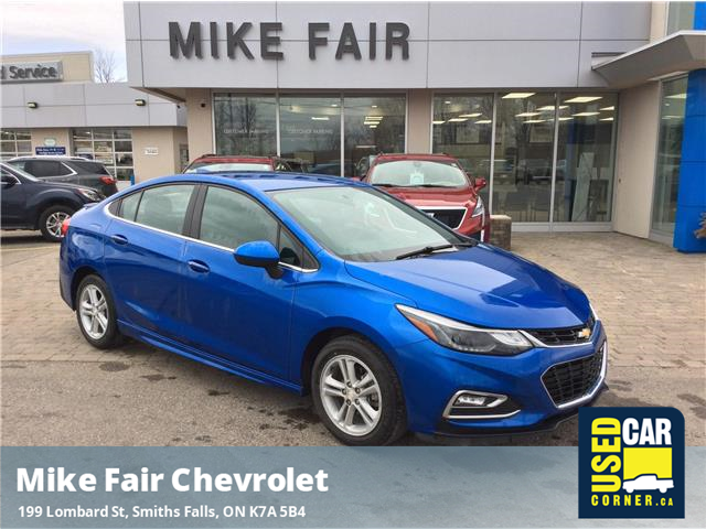 2017 Chevrolet Cruze LT Manual (Stk: P4284) in Smiths Falls - Image 1 of 16
