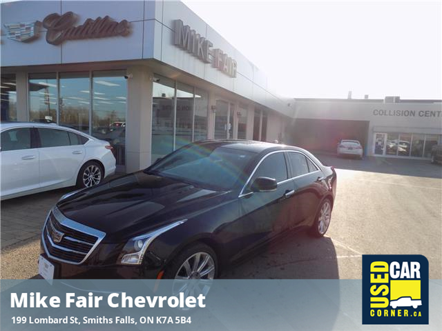 2017 Cadillac ATS 2.0L Turbo Luxury (Stk: P4304) in Smiths Falls - Image 1 of 16