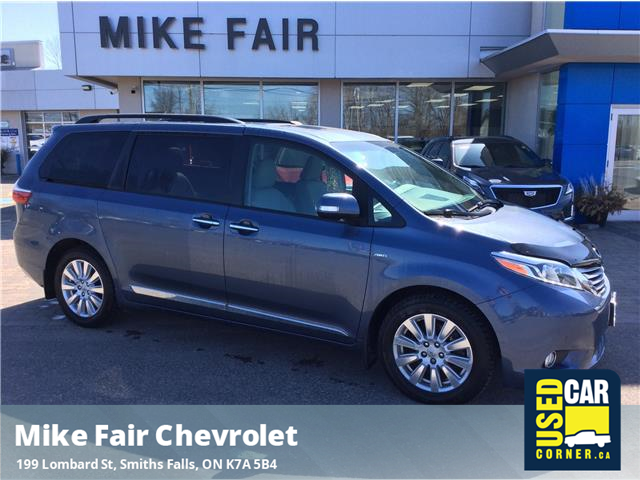2017 Toyota Sienna XLE 7 Passenger (Stk: 21185A) in Smiths Falls - Image 1 of 16