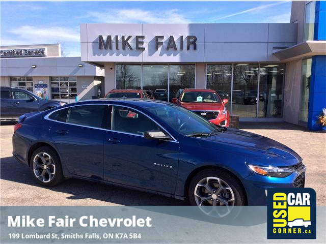 2019 Chevrolet Malibu RS (Stk: P4321) in Smiths Falls - Image 1 of 17