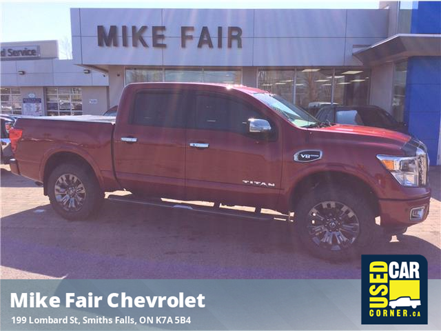 2017 Nissan Titan  (Stk: 20366A) in Smiths Falls - Image 1 of 15