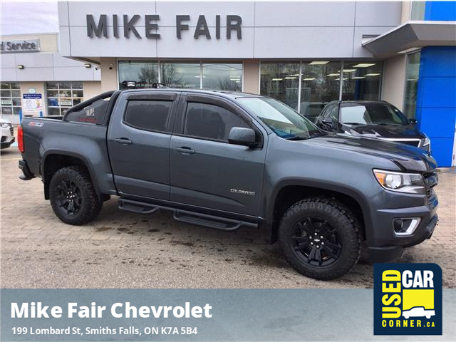 2016 Chevrolet Colorado Z71 (Stk: 21105A) in Smiths Falls - Image 1 of 9