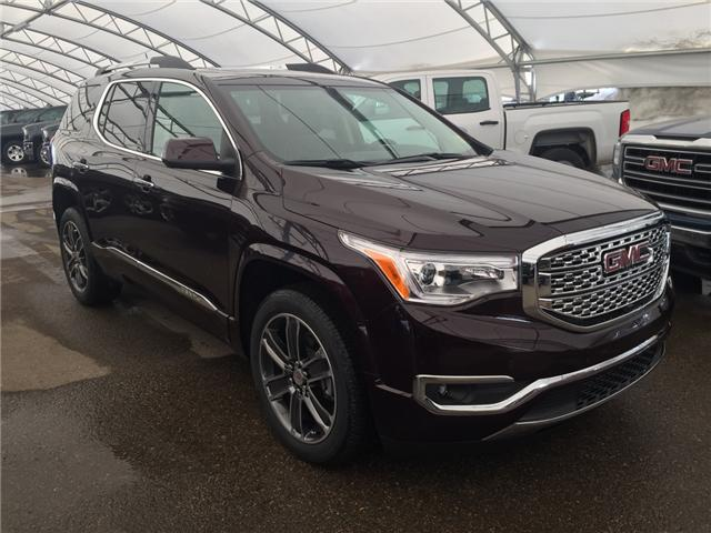 2018 GMC Acadia Denali (Stk: 162753) in AIRDRIE - Image 1 of 27