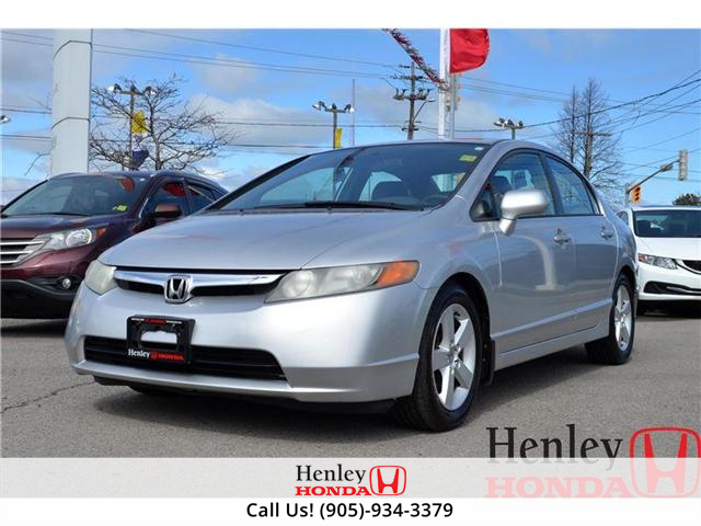 2006 Honda Civic LX REALLY LOW KM (Stk: H16997A) in St. Catharines - Image 1 of 13