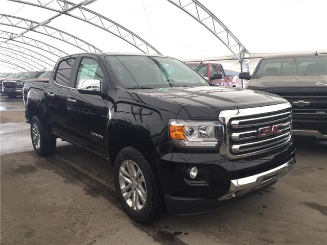 2018 GMC Canyon SLT (Stk: 163319) in AIRDRIE - Image 1 of 19