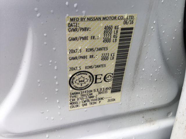2016 Nissan Titan XD Platinum Reserve Diesel (Stk: U1305) in Hamilton - Image 22 of 30