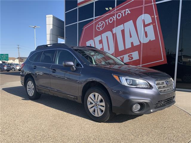 2017 Subaru Outback 2.5i (Stk: P1537) in Medicine Hat - Image 1 of 16