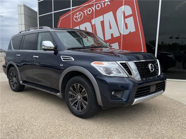 2017 Nissan Armada Platinum (Stk: DY4309A) in Medicine Hat - Image 1 of 18