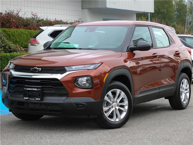 2021 Chevrolet TrailBlazer LS (Stk: 15833A) in Coquitlam - Image 1 of 22