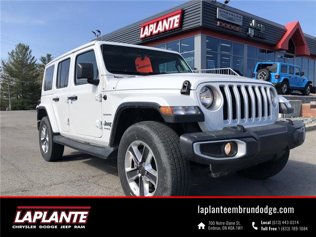 2021 Jeep Wrangler Unlimited Sahara (Stk: P21-15) in Embrun - Image 1 of 17