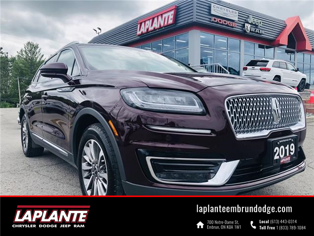 2019 Lincoln Nautilus Select (Stk: 20126a) in Embrun - Image 1 of 27