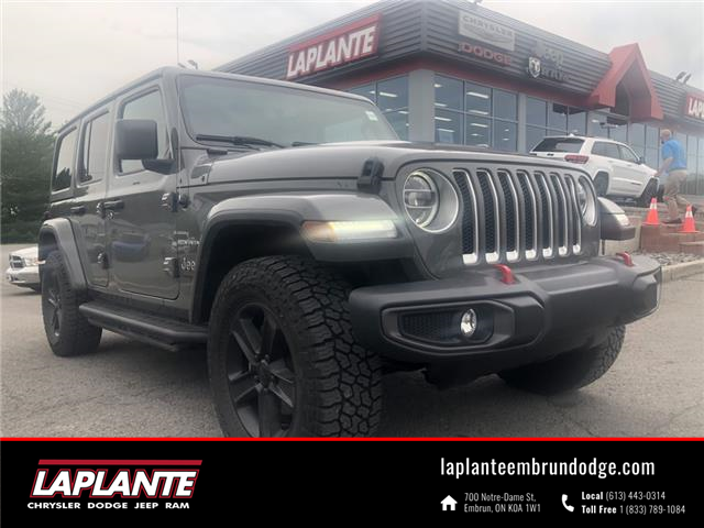 2020 Jeep Wrangler Unlimited Sahara (Stk: 21157A) in Embrun - Image 1 of 14
