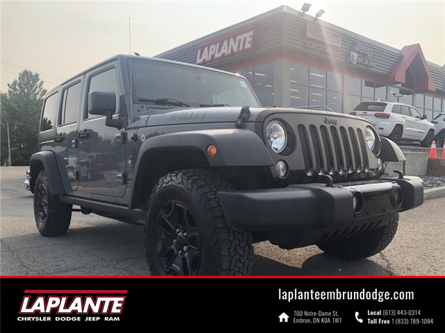 2015 Jeep Wrangler Unlimited Sport (Stk: 21157AA) in Embrun - Image 1 of 16