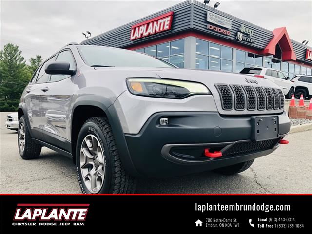 2020 Jeep Cherokee Trailhawk (Stk: 21156A) in Embrun - Image 1 of 25