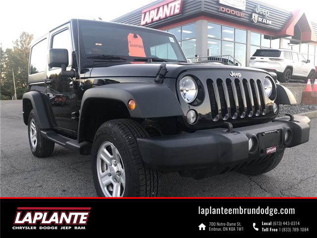 2014 Jeep Wrangler Sport (Stk: P21-16A) in Embrun - Image 1 of 14