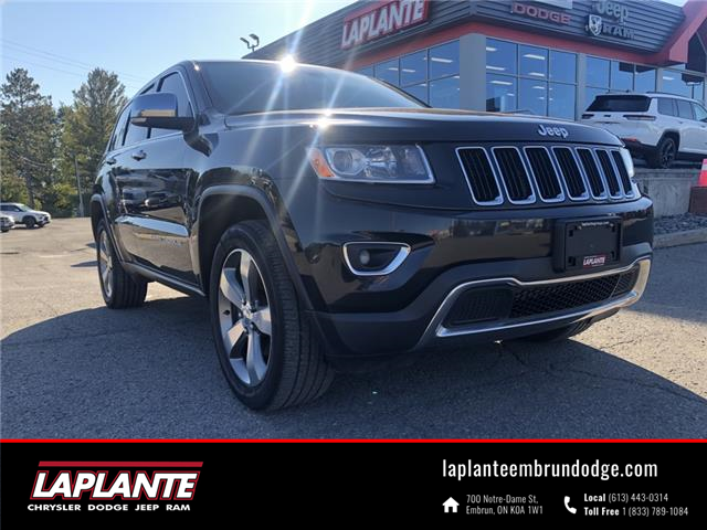 2015 Jeep Grand Cherokee Limited (Stk: 21095A) in Embrun - Image 1 of 25