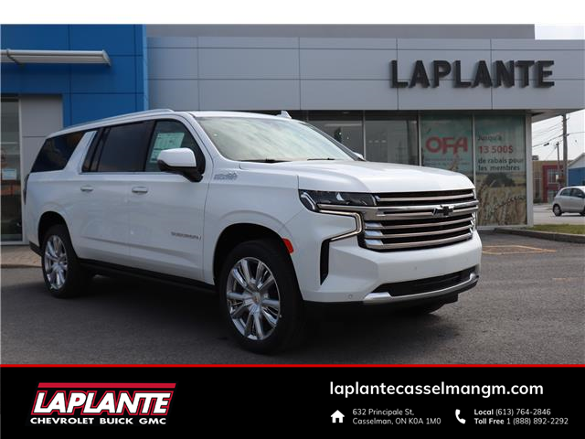 2021 Chevrolet Suburban High Country (Stk: 15928) in Casselman - Image 1 of 33