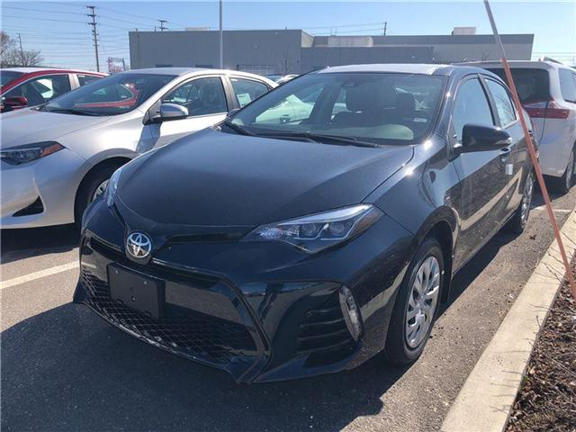 2018 Toyota Corolla SE (Stk: M180591) in Mississauga - Image 1 of 5