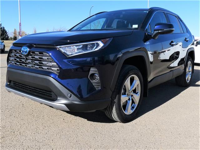 2021 Toyota RAV4 Hybrid Limited (Stk: RHM126) in Lloydminster - Image 1 of 4